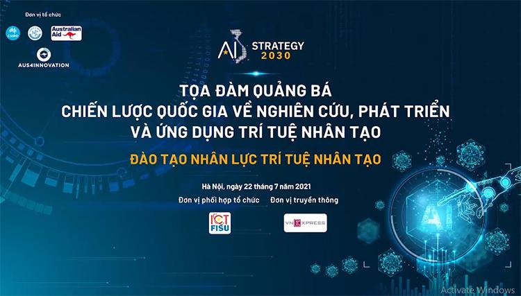 Ngày mai diễn ra tọa đàm Đào tạo nhân lực AI - 3