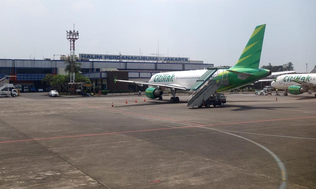 Sân bay Perdana Kusuma ở thủ đô Jakarta, Indonesia. Ảnh: CNN.