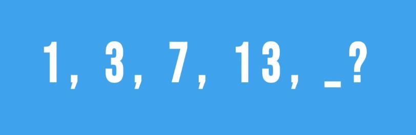 Thử thách tìm quy luật dãy số