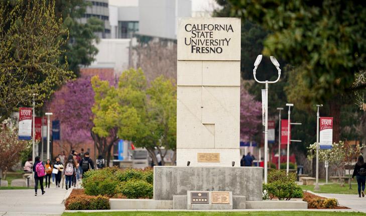 Đại học bang California (Fresno). Ảnh: Fresno State News