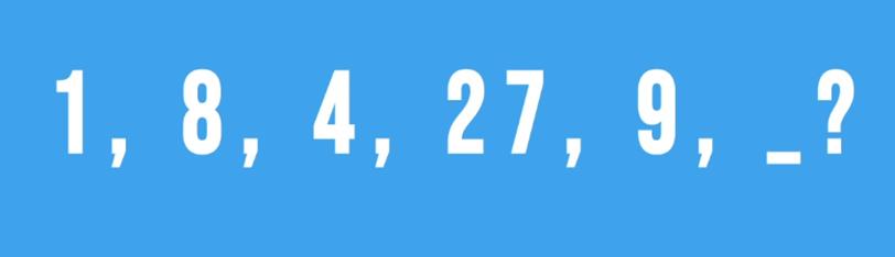 Thử thách tìm quy luật dãy số - 1