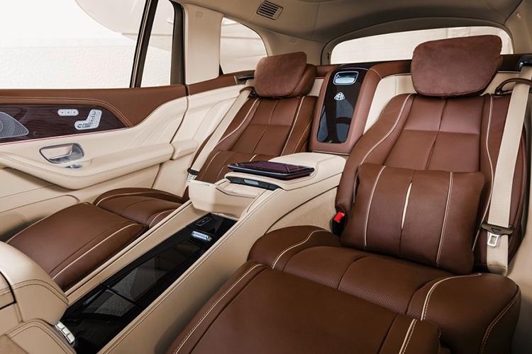 Hàng ghế thương gia của Mercedes-Maybach GLS 600 4Matic..