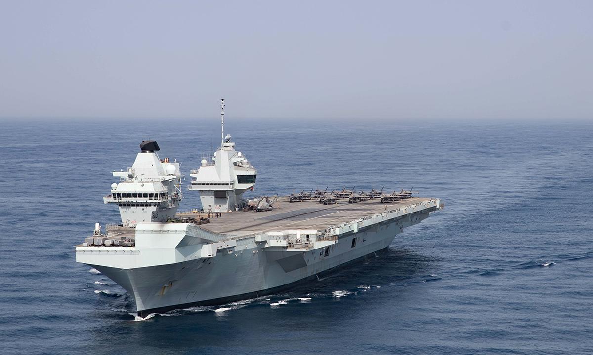 Động lực có thể khiến Anh điều chiến hạm tới châu Á trực chiến