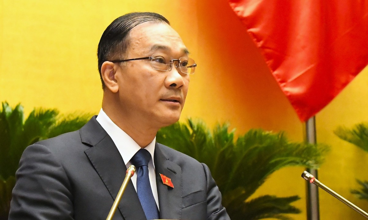 Chủ nhiệm Ủy ban Kinh tế của Quốc hội Vũ Hồng Thanh. Ảnh: Hoàng Phong