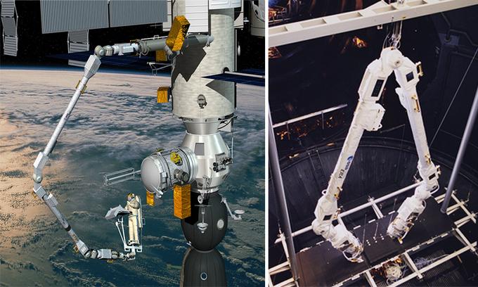 Cánh tay robot châu Âu (ERA). Ảnh: ESA/Airbus.