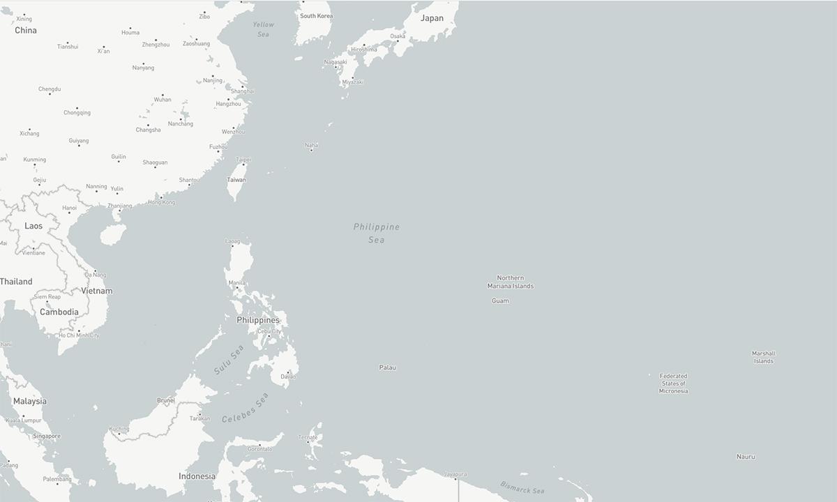 Khu vực Tây Thái Bình Dương. Đồ họa: CSIS.