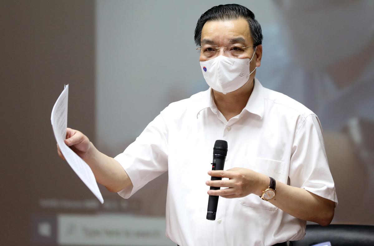 Chủ tịch UBND TP Hà Nội Chu Ngọc Anh: Ảnh: Ngọc Thành.