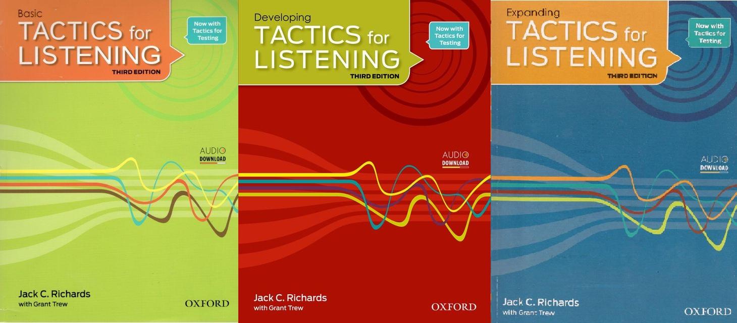 Tactics for Listening - Third Edition.