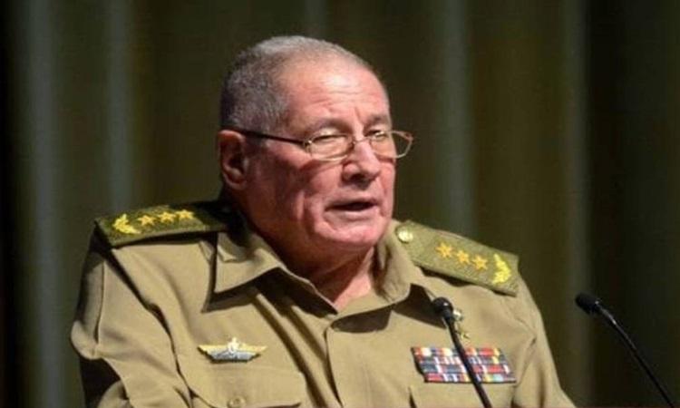 Bộ trưởng Quốc phòng Cuba Alvaro Lopez Miera. Ảnh: Acn.cu.