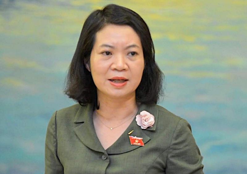 Bà Mai Thị Phương Hoa, Phó chủ nhiệm Ủy ban Tư pháp. Ảnh: Hoàng Phong.