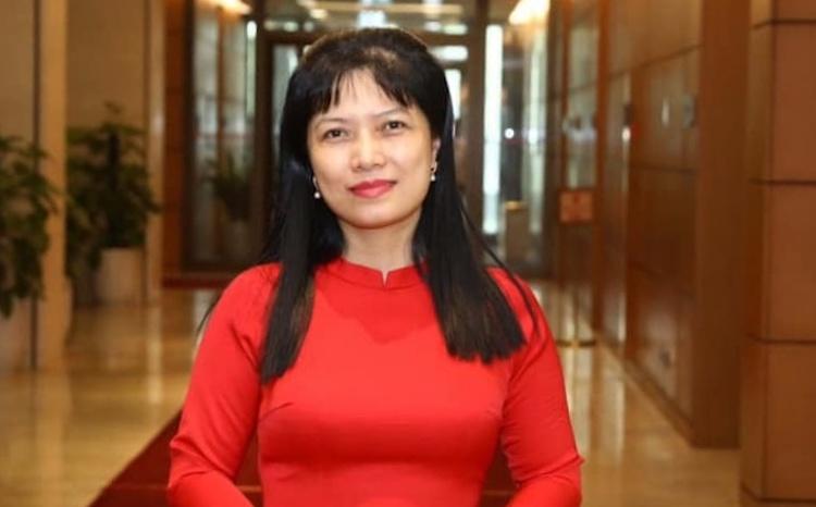 Tân Phó Trưởng Ban Công tác đại biểu Tạ Thị Yên. Ảnh: PV