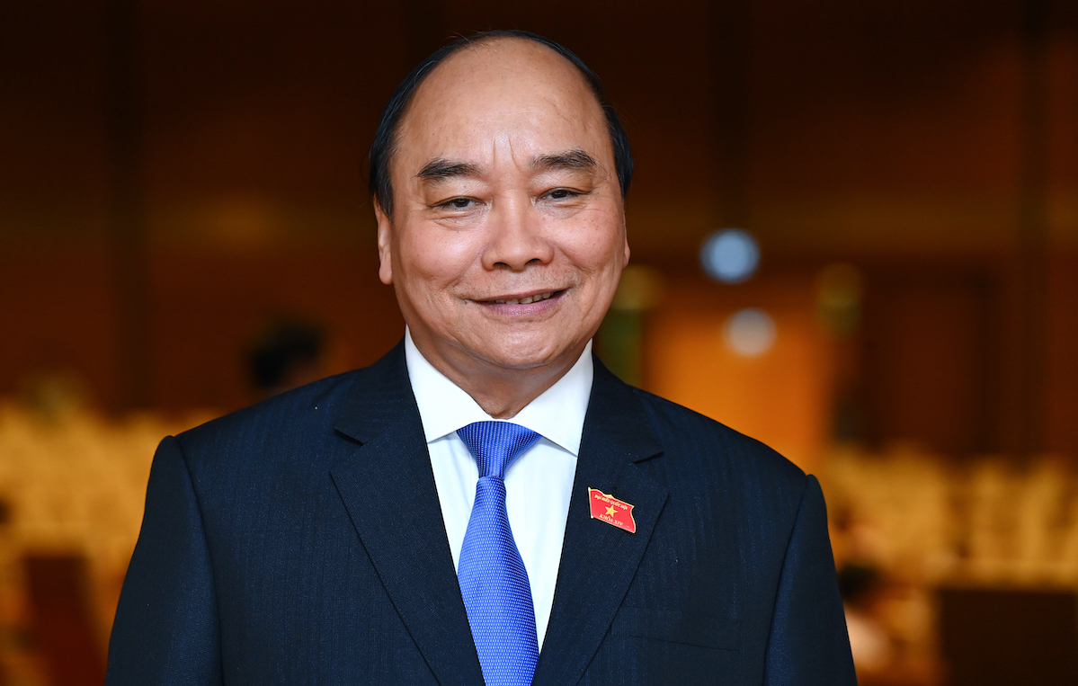 Chủ tịch nước Nguyễn Xuân Phúc. Ảnh: Giang Huy