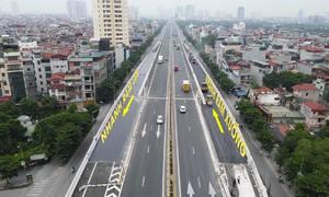 Tăng tốc làm đường kết nối tuyến trên cao Mai Dịch - cầu Thăng Long