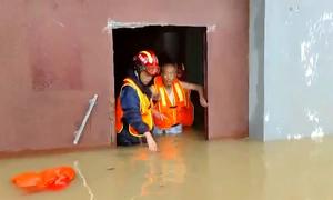 Hình ảnh gây sốc về trận đại hồng thủy tàn phá Trịnh Châu