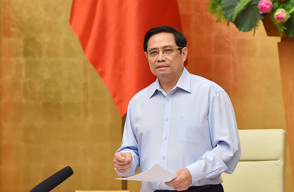 Thủ tướng Phạm Minh Chính yêu cầu khắc phục 6 hạn chế trong chống dịch
