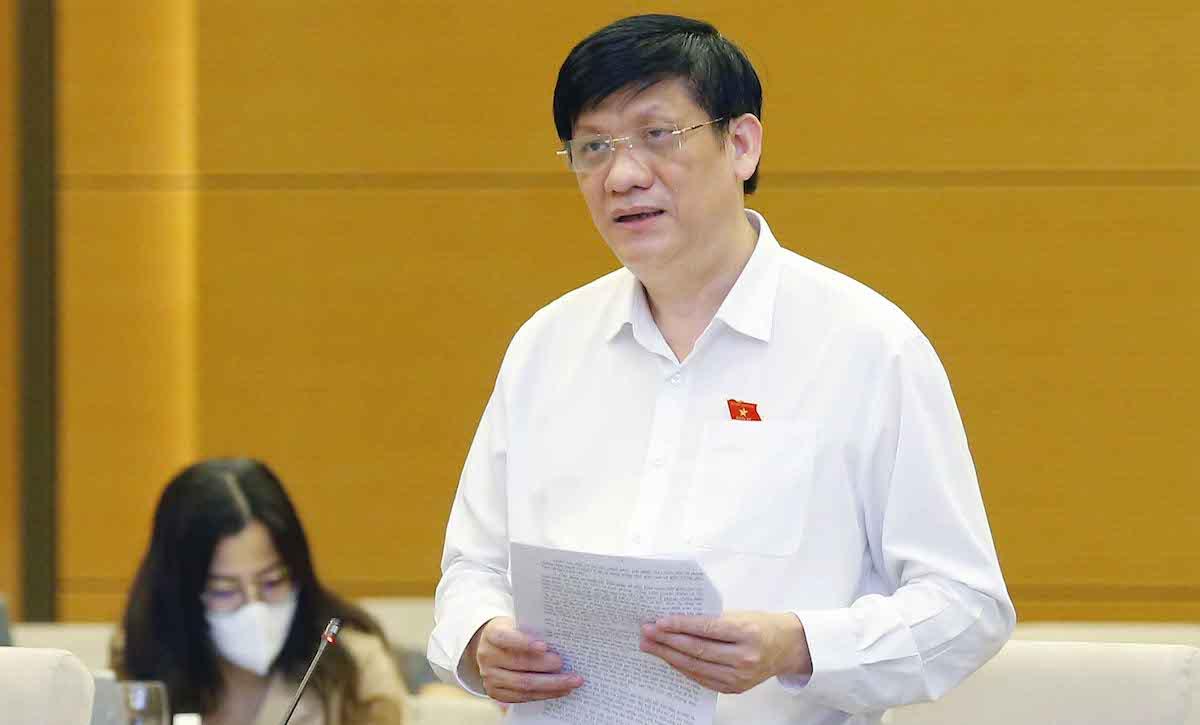 Ông Nguyễn Thanh Long - Bộ trưởng Bộ Y tế. Ảnh: Giang Huy