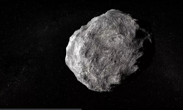 Mô phỏng tiểu hành tinh bay trong vũ trụ. Ảnh: iStock.
