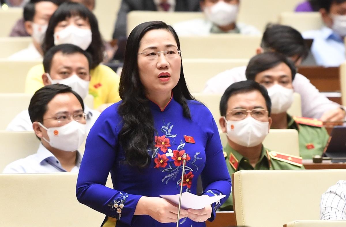 Đại biểu Nguyễn Thị Thủy, Thường trực Ủy ban Tư pháp. Ảnh: Giang Huy