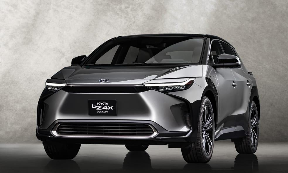 Xe điện Toyota bZ4X. Ảnh: Toyota