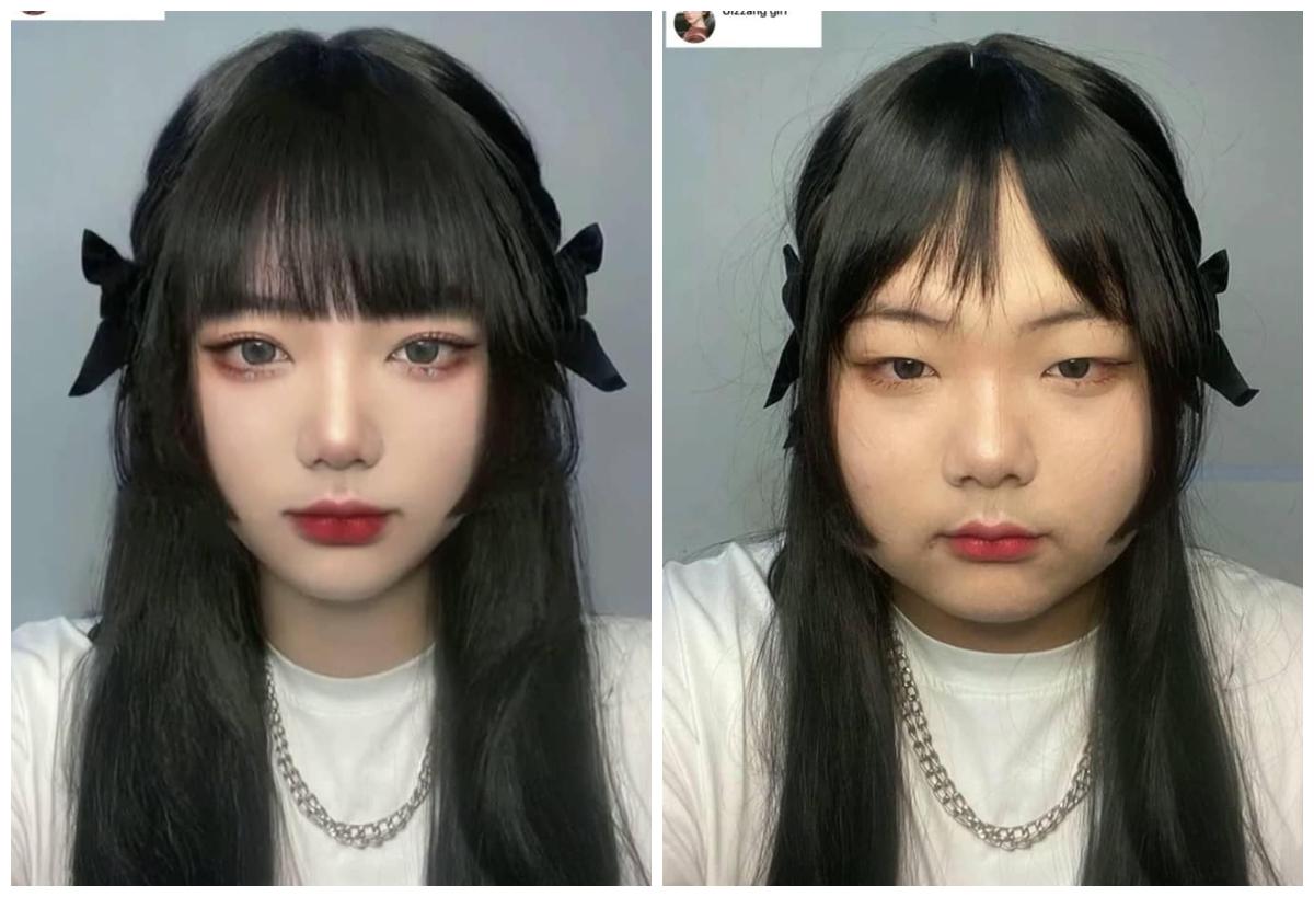 Bạn nữ này bình thường trông cũng khá xinh xắn đấy chứ?