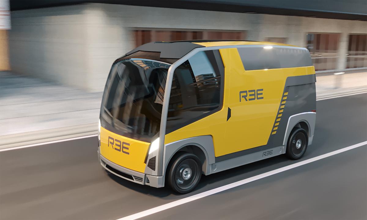 Một thiết xe điện bản concept của REE. Ảnh: REE