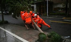 Miền đông Trung Quốc gồng mình trước bão In-Fa