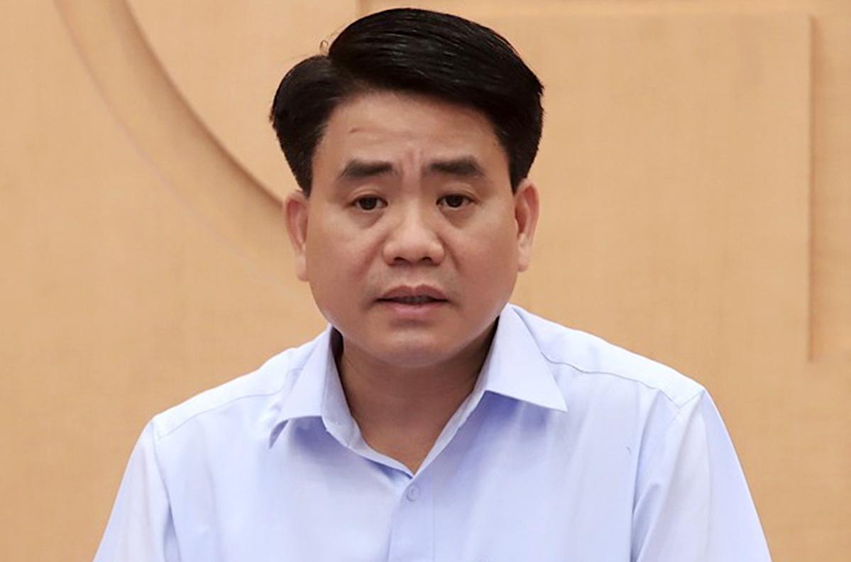Cựu chủ tịch Hà Nội Nguyễn Đức Chung. Ảnh:Võ Hải.