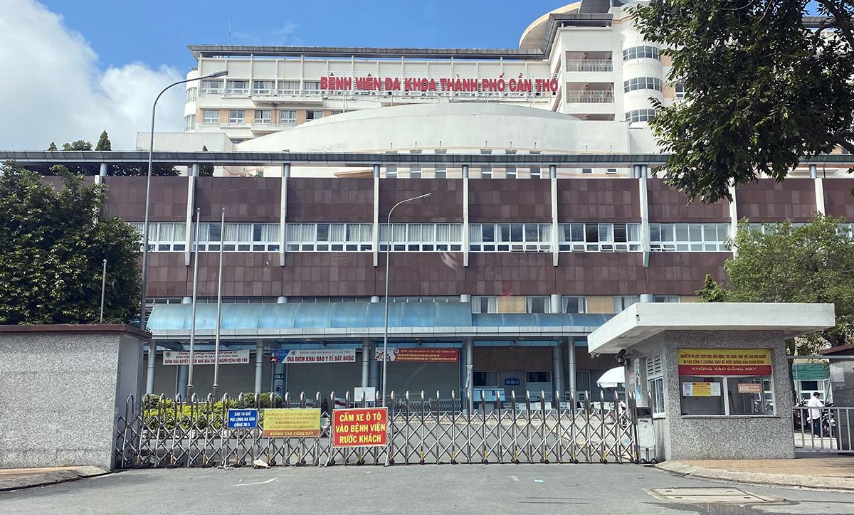 Bệnh viện đa khoa TP Cần Thơ ngày 27/7. Ảnh: Hưng Lợi