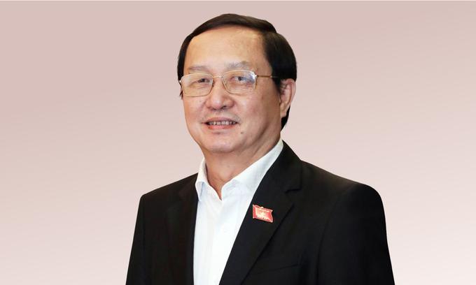 PGS.TS Huỳnh Thành Đạt, Uỷ viên Trung ương Đảng, Bộ trưởng Khoa học và Công nghệ. Ảnh: Hoàng Phong.