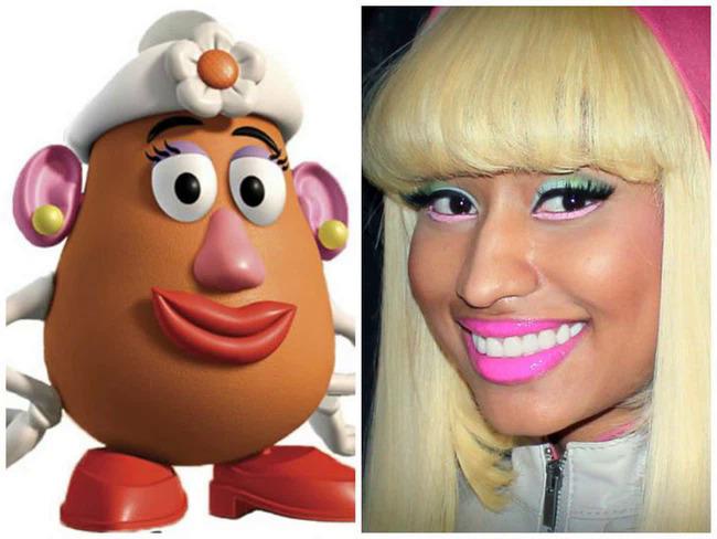 Giống thế Nicki Minaj ơi.