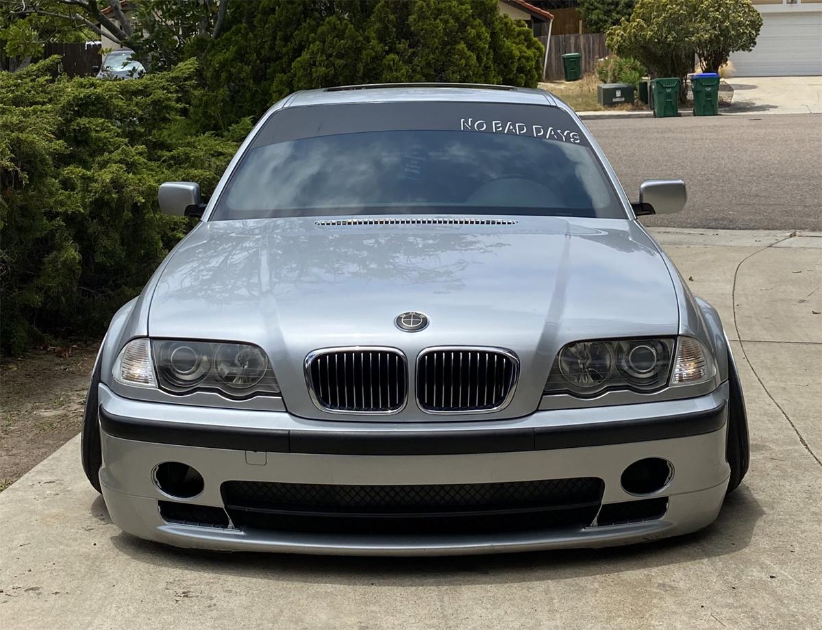 Chiếc BMW thuộc sở hữu của Bryan Hillman. Ảnh: Bryan Hillman