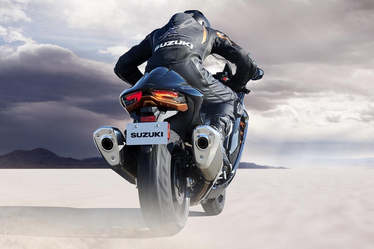 Siêu môtô tinh chỉnh thiết kế, thêm công nghệ và an toàn hơn. Ảnh: Suzuki
