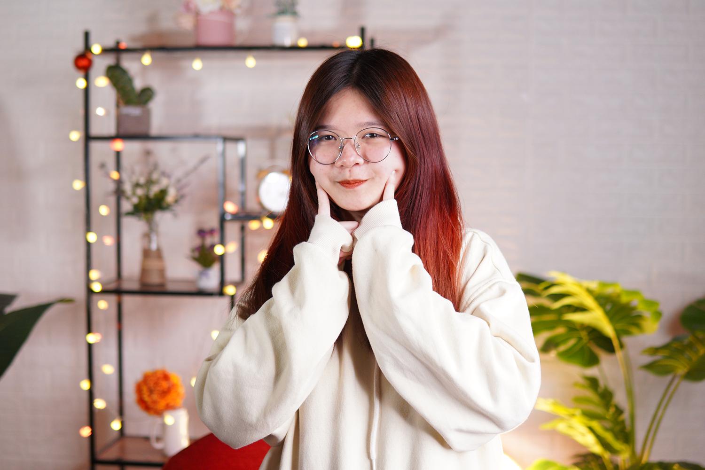 Kim Hồng chia sẻ có người định hướng rõ ràng cô tiết kiệm thời gian học hơn