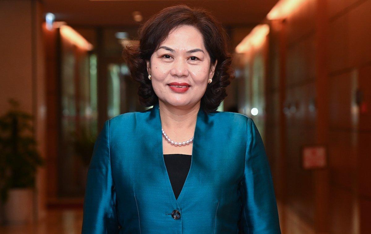 Thống đốc Ngân hàng Nhà nước Nguyễn Thị Hồng. Ảnh: Giang Huy