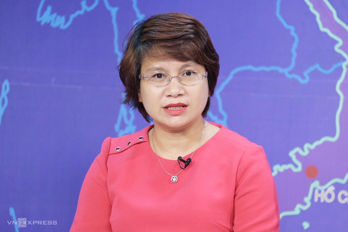Bà Nguyễn Thu Thủy, Vụ trưởng Giáo dục Đại học, Bộ Giáo dục và Đào tạo. Ảnh: Dương Tâm