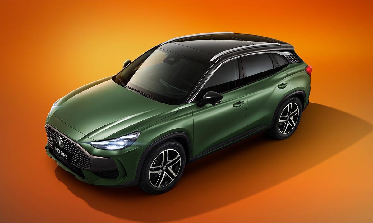 ME giới thiệu MG ONE cho thị trường Trung Quốc. Ảnh: MG