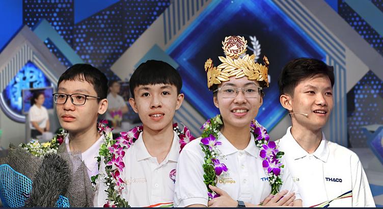Cả 4 nhà vô địch có những dự định riêng sau khi kết thúc kỳ thi THPT Quốc gia.