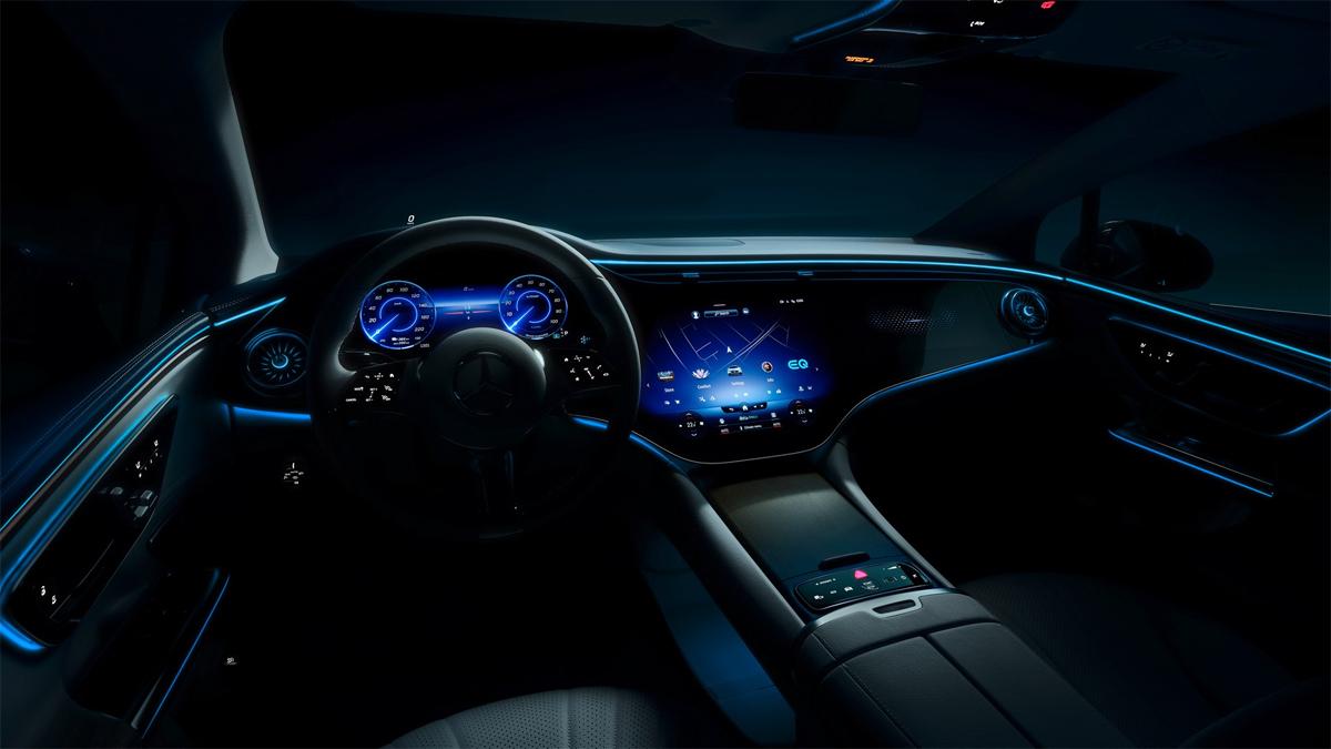 Interior design by EQE.  Photo: Mercedes