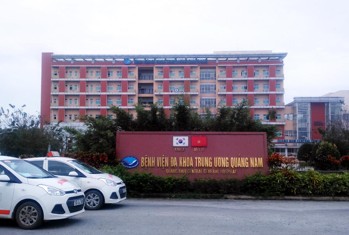 Bệnh viện Đa khoa Trung ương Quảng Nam. Ảnh: Đắc Thành.
