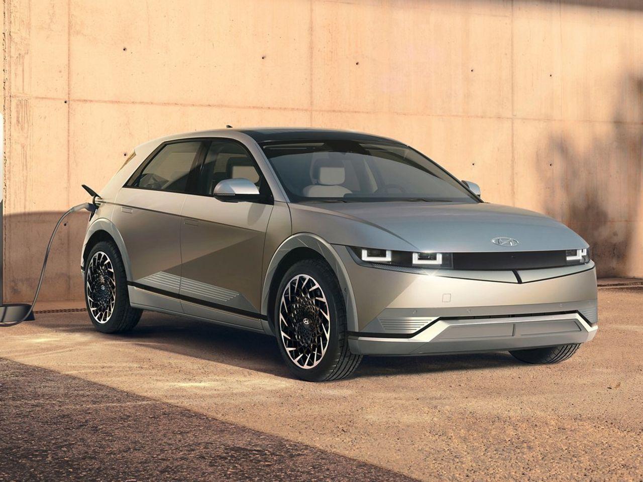 Ioniq 5, mẫu hathback 5 cửa thuần điện tại Mỹ. Ảnh: Hyundai