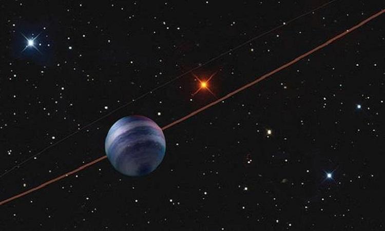 Mô phỏng ngoại hành tinh COCONUTS-2b. Ảnh: SOEST/UH.