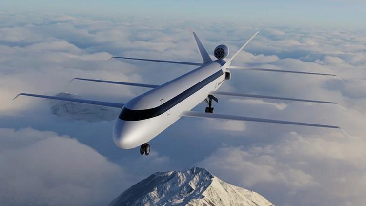 Concept máy bay 6 cánh của hãng hàng không SE Aeronautics. Ảnh: SE Aeronautics.
