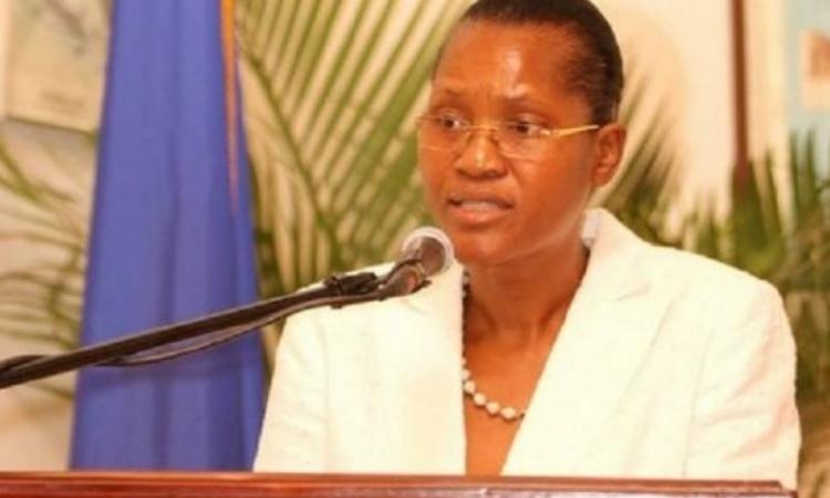 Nữ cựu thẩm phán Tòa án Tối cao Haiti Wendelle Coq-Thelot. Ảnh: Haiti News.