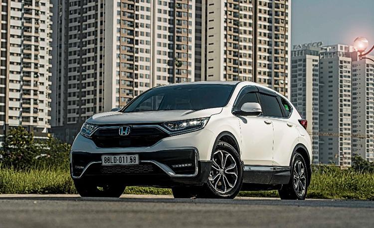 Honda CR-V phiên bản mới nhất tại Việt Nam. Ảnh: HVN.