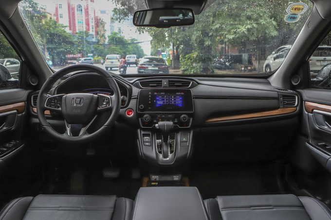 Nội thất Honda CR-V. Ảnh: Lương Dũng.