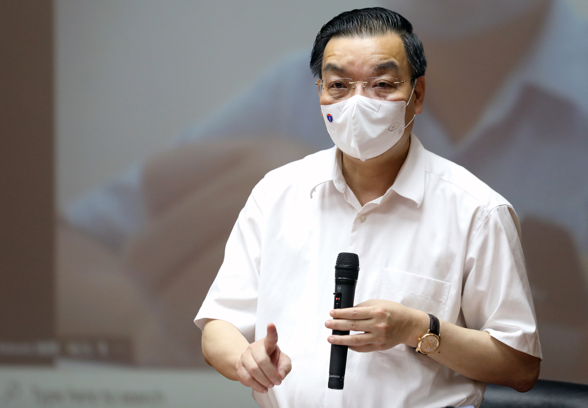 Chủ tịch UBND TP Hà Nội Chu Ngọc Anh. Ảnh: Ngọc Thành.