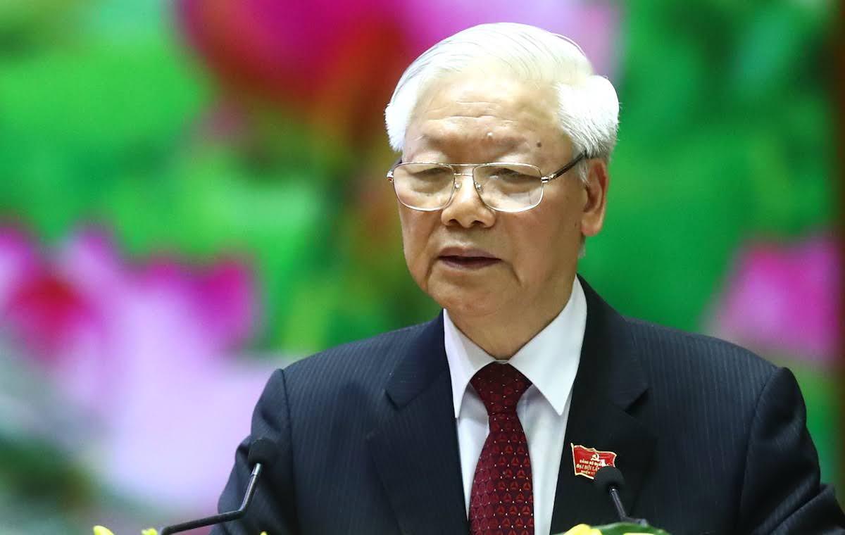 Tổng bí thư Nguyễn Phú Trọng. Ảnh: Hoàng Phong