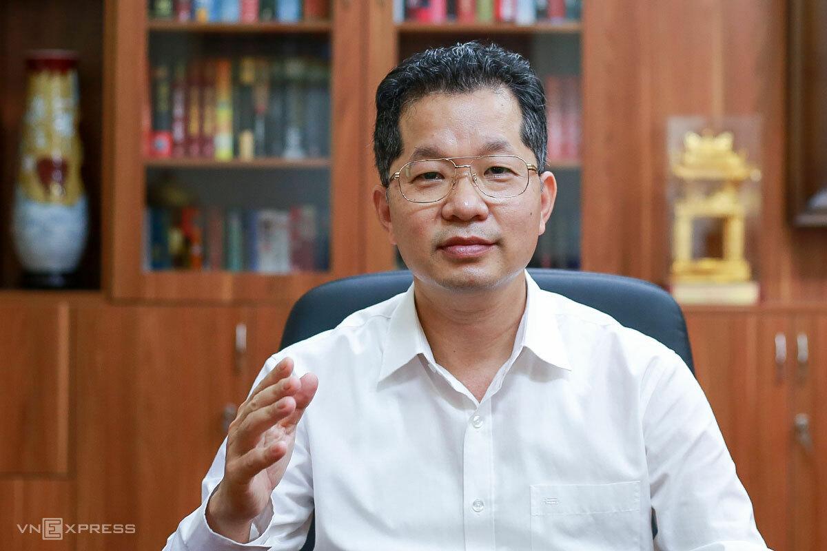 Ông Nguyễn Văn Quảng, Bí thư thành uỷ Đà Nẵng. Ảnh: Nguyễn Đông.