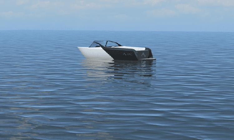 Concept thuyền điện cao tốc Arc One. Ảnh: Arc Boat.