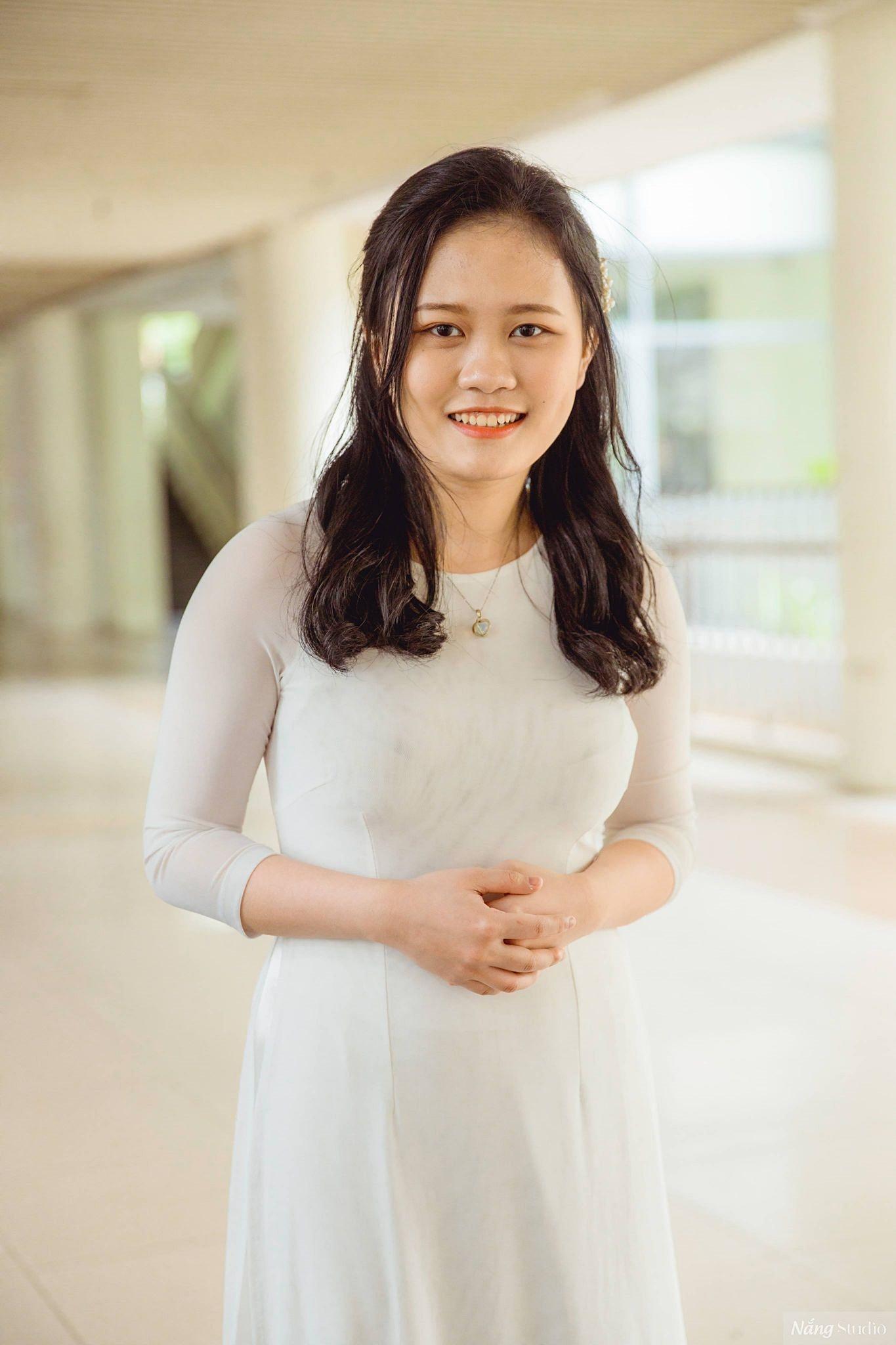Nguyễn Lê Thảo Anh, lớp 12 Hóa 1, trường THPT chuyên Hà Nội-Amsterdam. Ảnh: Nhân vật cung cấp